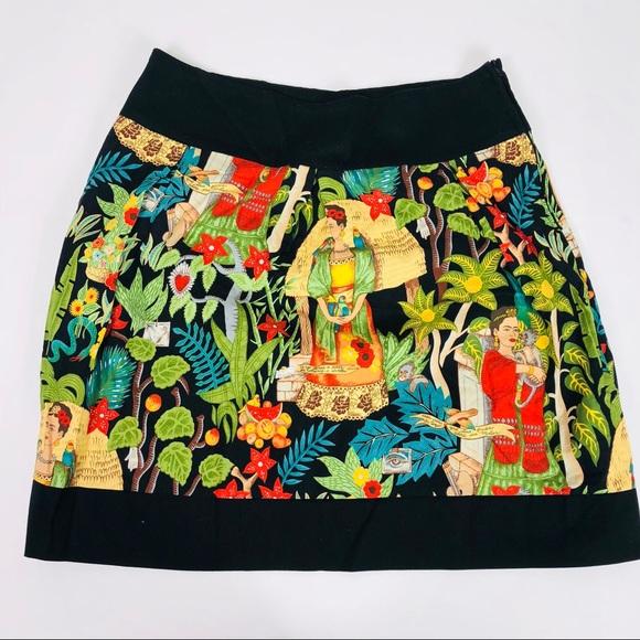 e3e4b4e61 hemet Dresses & Skirts - Hemet Frida Kahlo Skirt Vintage Rockabilly Style
